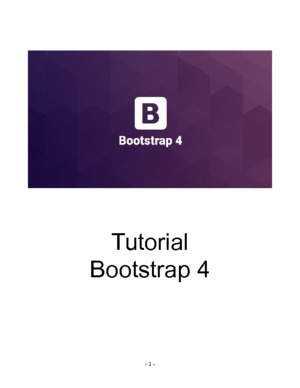 Tutorial Bootstrap 4.0