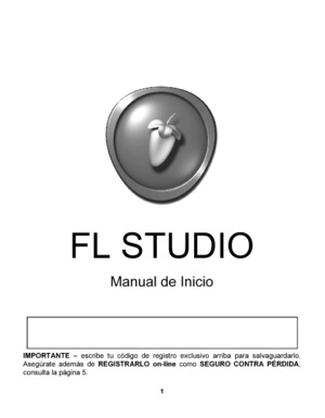 FL Studio Manual de Inicio