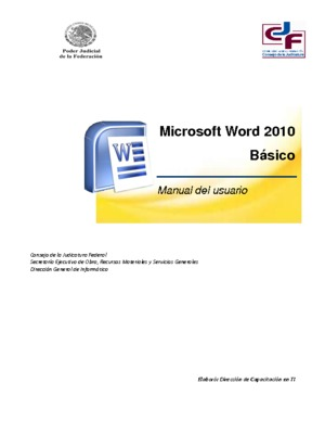 Microsoft Office 2010 Manual Pdf