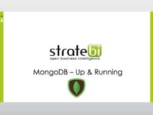 MongoDB - Up & Running