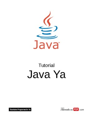 Tutorial Java Ya