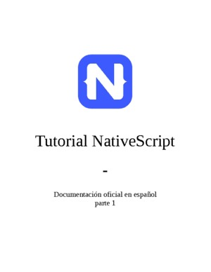 Tutorial NativeScript - parte 1