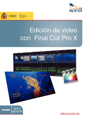 Edición de vídeo con Final Cut Pro X