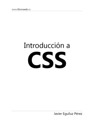 Css tutoriales en pdf introduccin a css malvernweather Image collections