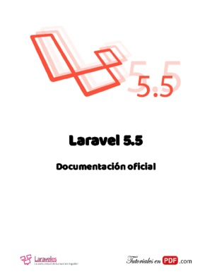 Laravel 5.5 Documentación oficial
