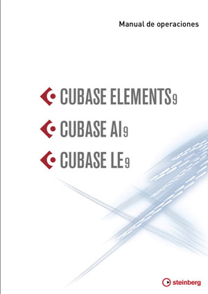 Manual de operaciones Cubase LE, Al y Elements 9