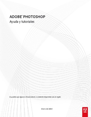 ADOBE PHOTOSHOP Ayuda y tutoriales