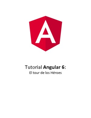 Tutorial de Angular 6